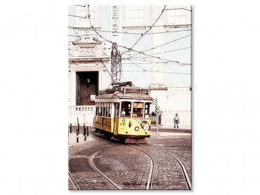 Tableau WelcometoPortugal Tram24 vintage