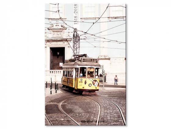 Tableau WelcometoPortugal Tram24 vintage