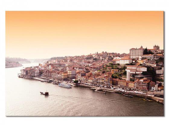 Tableau WelcometoPortugal Lisbonne vue du Tage