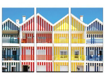 Tableau WelcometoPortugal Houses of Striped Colors