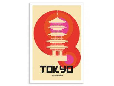 Cadre Tokyo temple Asakusa