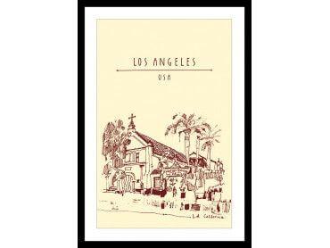 Cadre chapelle à Los Angeles Californie