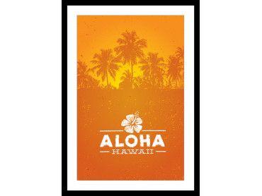 Cadre Aloha Hawaï
