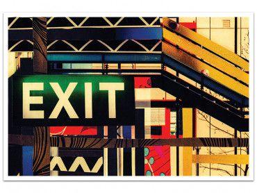 Cadre photographie EXIT art de rue