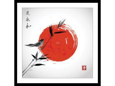 Affiche Shinto et son rossignol