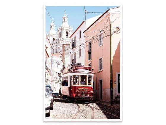 Affiche WelcometoPortugal Tram