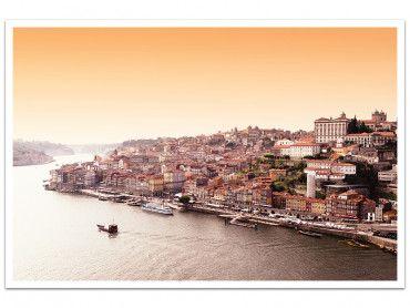 Affiche WelcometoPortugal Lisbonne vue du Tage