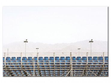 Tableau photo Stade de foot. Scenes from Eilat 2018