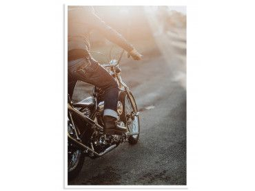 Affiche vintge Good Ride Baby!
