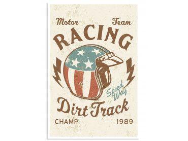 Affiche Vintage Motor Racing