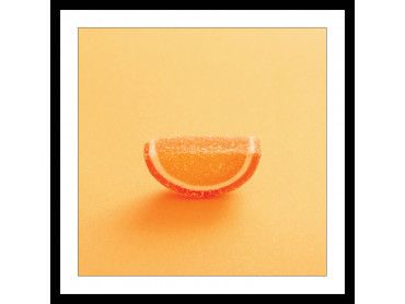 Affiche cuisine bonbon à l'orange