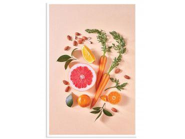 Affiche Shot de Vitamine C