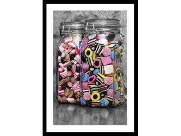 Affiche Bonbons Arlequins et Roudoudous
