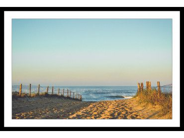 Affiche photo deco plage Hossegor