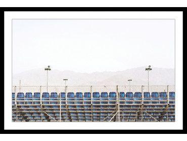 Cadre photo Stade de foot. Scenes from Eilat 2018