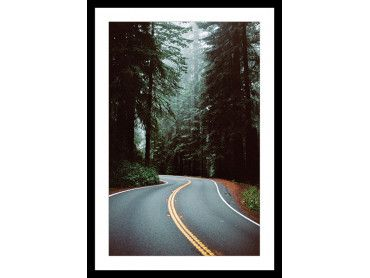 "Poster Photo paysage montagne ""Oregon"""