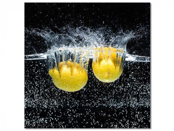 Tableau deco citron pour cuisine