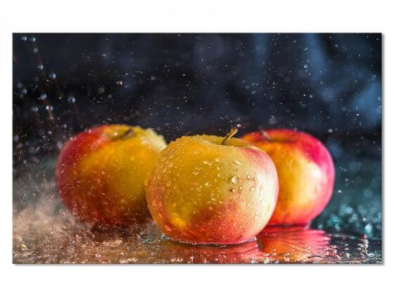 Tableau cuisine douche de pommes
