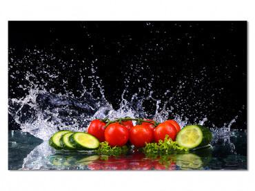 Tableau deco design regime salade estivale