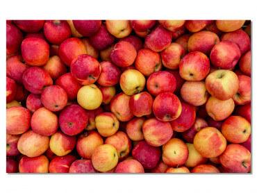 Tableau deco design les pommes