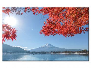 Tableau deco paysage seul sur un lac