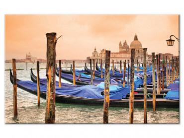Tableau deco gondoles a Venise