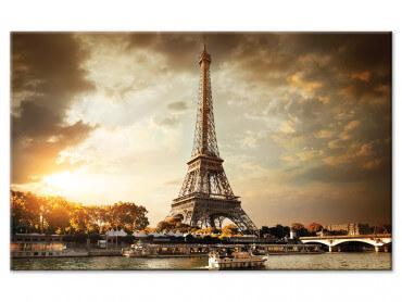 Tableau deco design Paris et sa Tour Eiffel