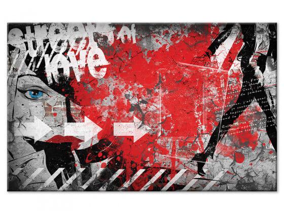 Tableau deco mural street art