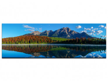 Tableau decoration paysage de montagne panoramique