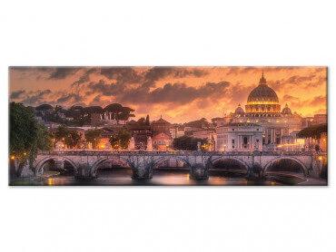 Tableau deco vue sur la Basilique St Pierre a Rome
