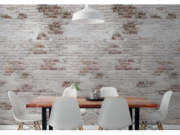 Papier peint rouleau le mur de briques