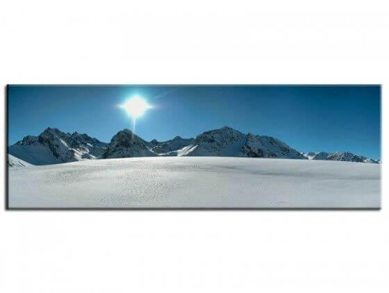 Tableau deco photographie panorama des pyrénées