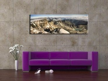 Tableau deco photo moderne le Mont Perdu