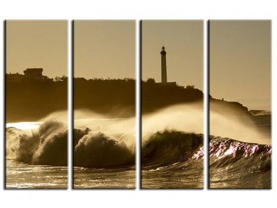 Tableau paysages photo plage d'Anglet