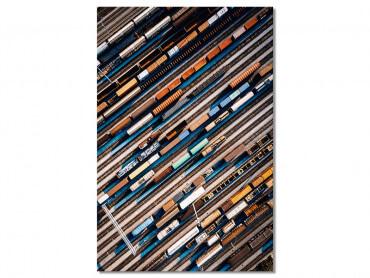 Tableau photo Industrialisation et frêt