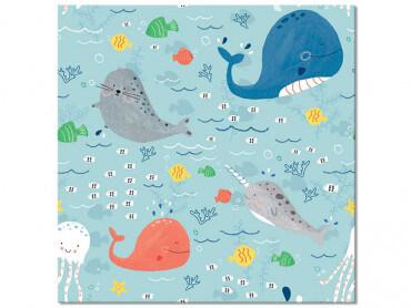 Tableau enfant Happy Ocean