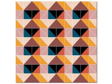 Tableau patchwork scandinave