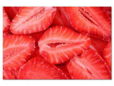 Tableau cuisine salade de fraises
