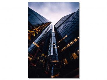 Tableau London au pied des tours