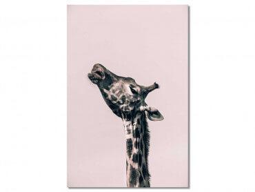 Tableau Girafe Ma Reine
