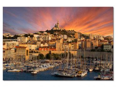 Tableau Marseille, La Bonne Mère