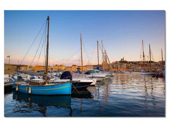 Tableau Marseille, Les Pointus du Vieux Port