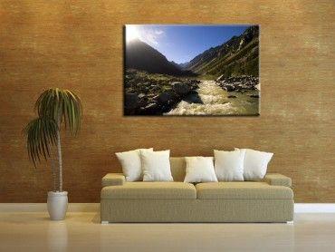 Tableau cadre photo automne au Vignemale