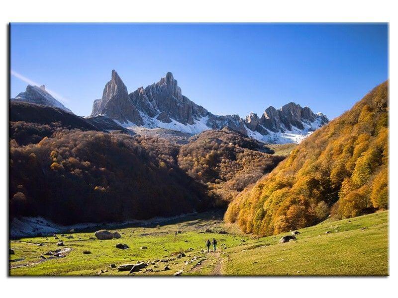 Tableau d co photo de montagne prix r duit boutique hexoa for Deco de montagne petit prix