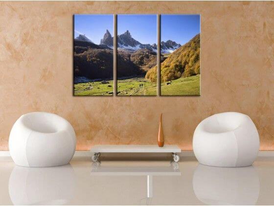 Tableau déco photo montagne Pic d'Ansabère