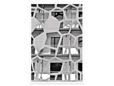 Affiche urbaine Balcons sur angle