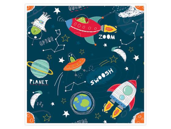 Affiche enfant Happy Cosmos
