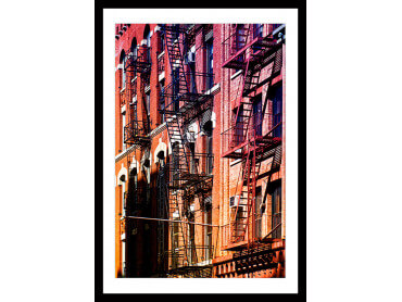 Affiche urbaine New York West side Story
