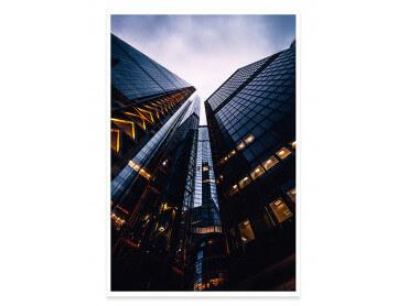 Affiche London Au pied des tours
