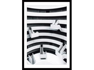 Affiche un escalier à Paris